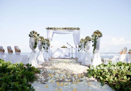 巴厘岛皇家姗楚安沙滩婚礼-巴厘岛-珂瑞斯